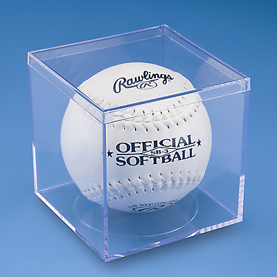 4″ x 4″ x 4″ cube with lid, crystal clear styrene.