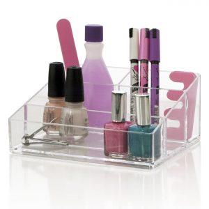 Nail polish accessory organizer