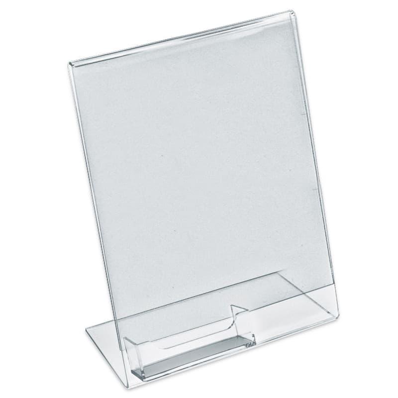Signholder, 8-1/2″ x 11″ w/ Card Holder