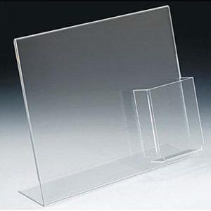 Signholder w/ Pocket, 13-1/8″ x 11″h