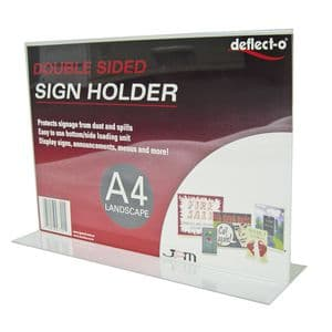 Bottom Loading Signholder, 17″w x 11″w