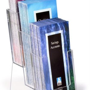 3 Tier Brochure Holder, 8-1/2″ x 11″ Brochures