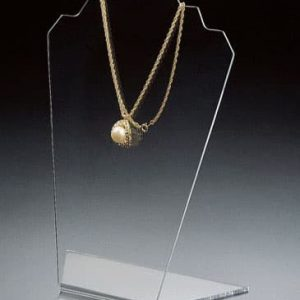 Slantback Neckform Display, Clear