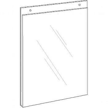 Wallmount Signholder, 2″w x 3-1/2″h