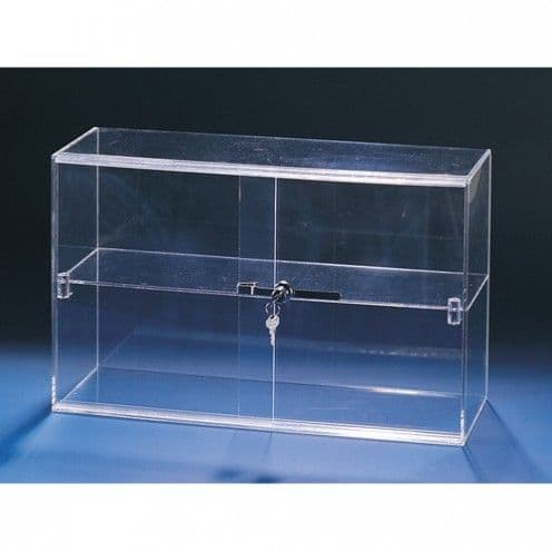 Showcase, 2 Shelves, 21″l x 7-1/2″w x 13″h