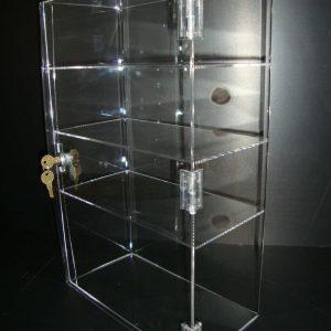 Jewelry T-Bar Showcase, 6″l x 6″w x 16″h
