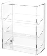 Showcase, Slanted 4 Shelves, 24″h