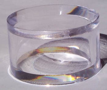 Acrylic Ring, 2″dia x 1″h