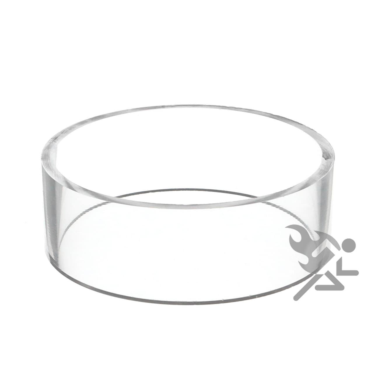 Acrylic Ring, 3″dia x 1″h