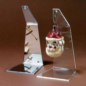 Ornament Stand, 8″ h Mirror