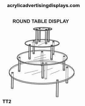 Round Table Display 4 – Tier