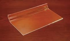 Econo Slatwall Shelf, 11-3/4″l x 6″w