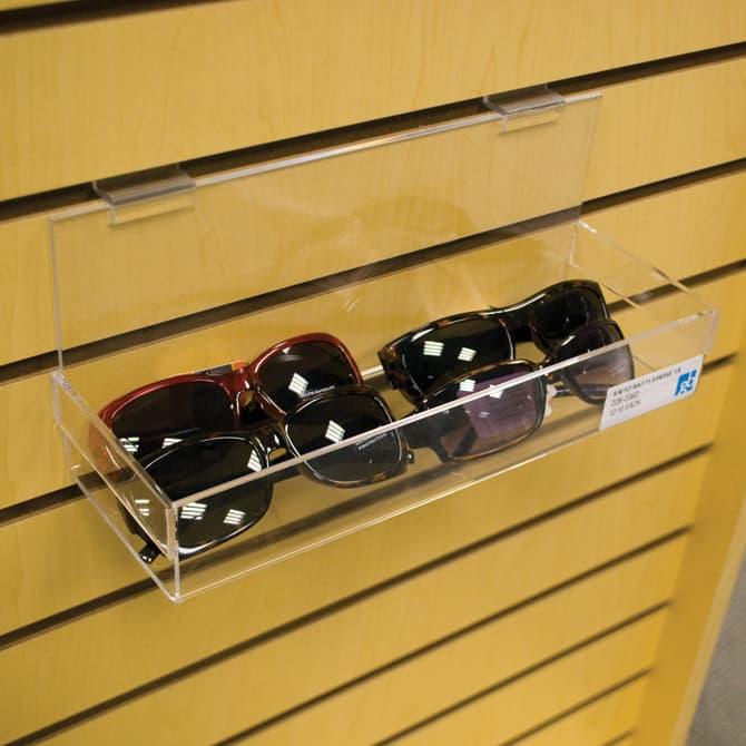 Slatwall Shelf, 23-3/4″l x 4″w, Closed Ended