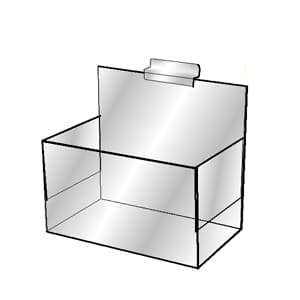 Slatwall Hoisery Bin, Single Pocket