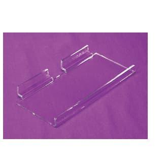 Econo Slatwall Shelf, 11-3/4″l x 6″w, w/ 1″ Lip