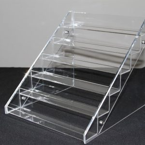 Acrylic nail polish display rack 36 bottles