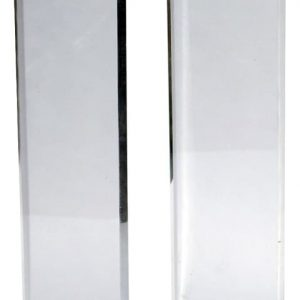 12″ x 12″ x 36″ – Clear Waterfall Pedestal, 1-1/2″