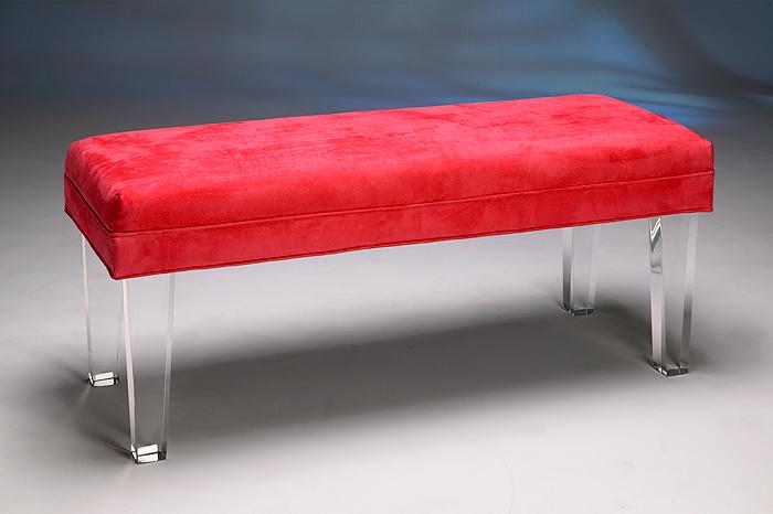Acrylic Vanity Benches