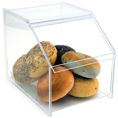 Acrylic Bagel Bin