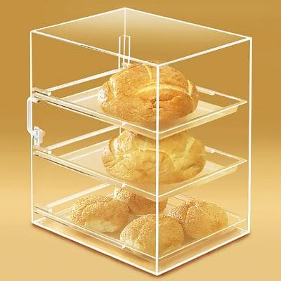 Cupcake display case for retail small