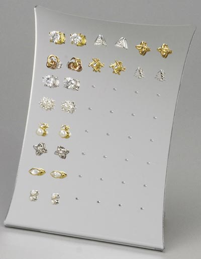 Slantback Earring Displays