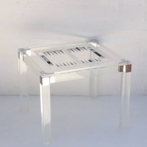 Acrylic Game Table, Rectangular