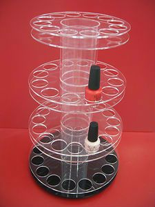 Acrylic Lazy Susan Nail Polish Display III