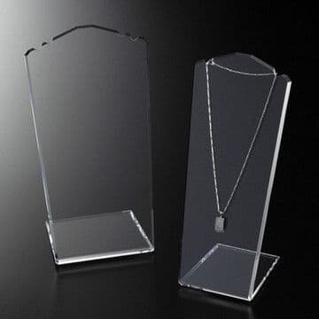Slantback necklace display