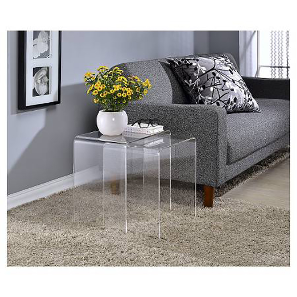 Acrylic Nesting tables 18″ & 16″