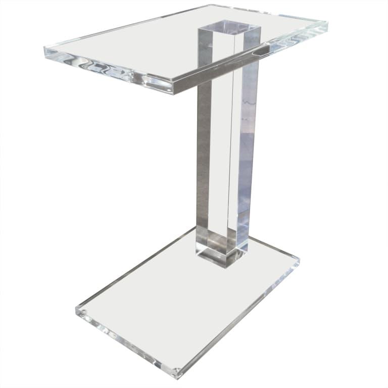 Acrylic Side Tables