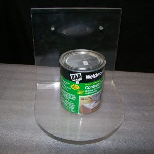 Acrylic 8″ single shelf