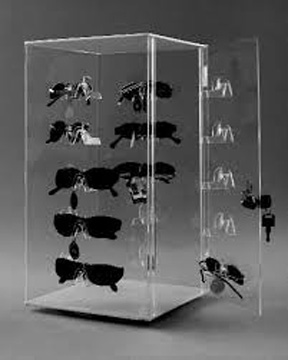 Acrylic Glasses Display Clear