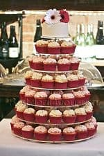 Cupcake stand round 6 tiers