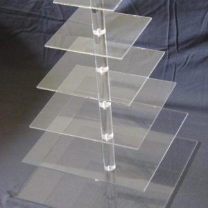 Cupcake stand square 6 tiers