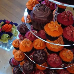 Cupcake stand round 5 tiers
