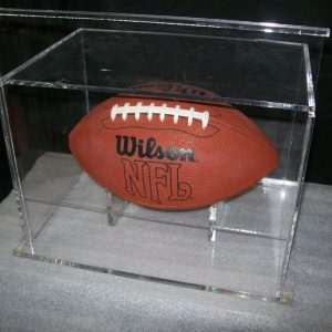 Football sliding door display case