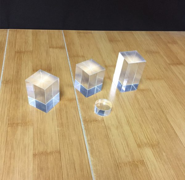 Solid Acrylic Cubes