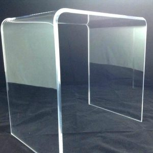 42″ x 18″ x 29″ tall Waterfall Table 1.00″ thick acrylic