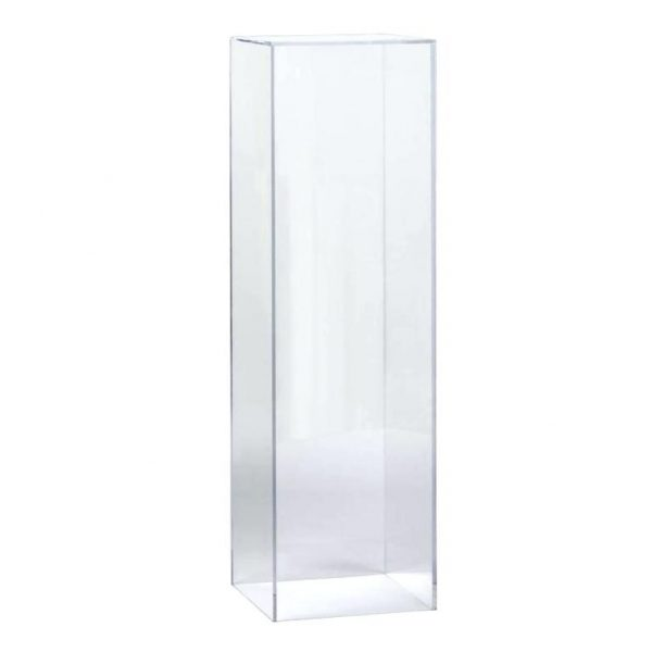 five sided acrylic pedestal -Plasticmart