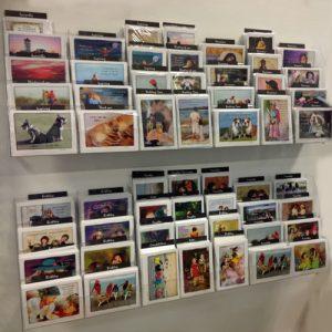 Wall Mount Greeting Card Display