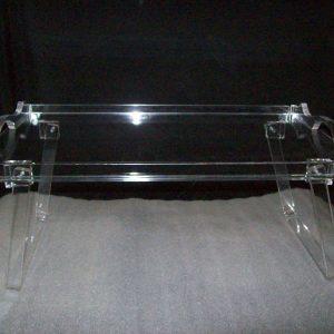 Acrylic Bed Tray White