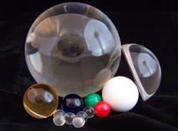 Acrylic Spheres 2.50″ dia