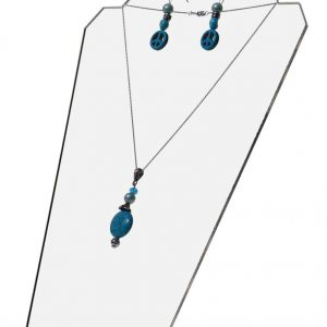 Acrylic pendant and earing display